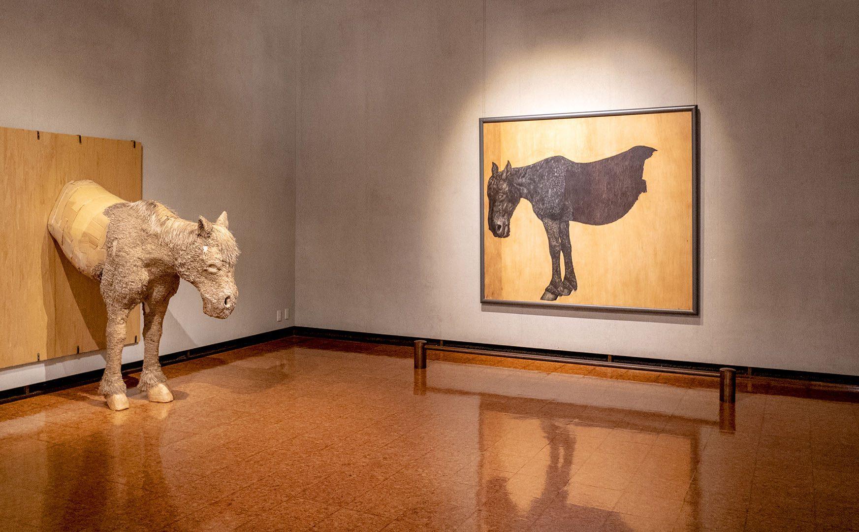 『神田日勝記念美術館』にて、夭折した天才画家・神田日勝の世界に触れる