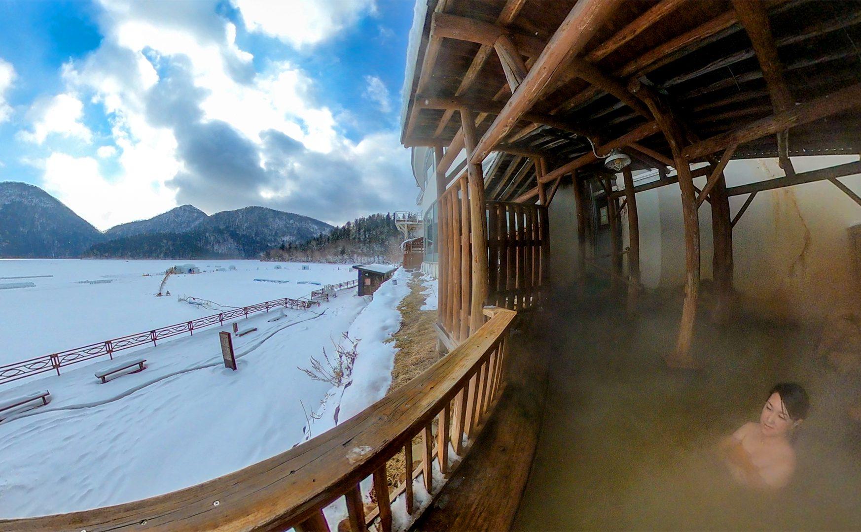 然別湖を眼前に臨む唯一の温泉ホテル「風水」